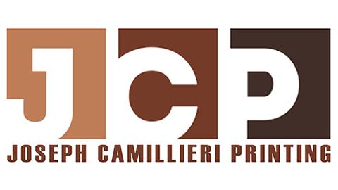 Joseph Camillieri Printing JCP LOGO